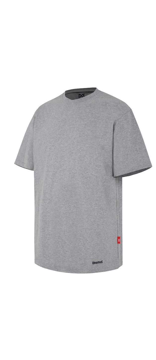 CROSS CREW NECKTSHIRTS-GRAY