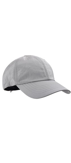 DSOMUS TECHNICAL CAP-SILVER GREY