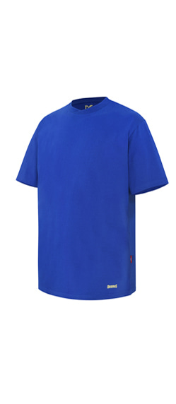 CROSS CREW NECKTSHIRTS-BLUE